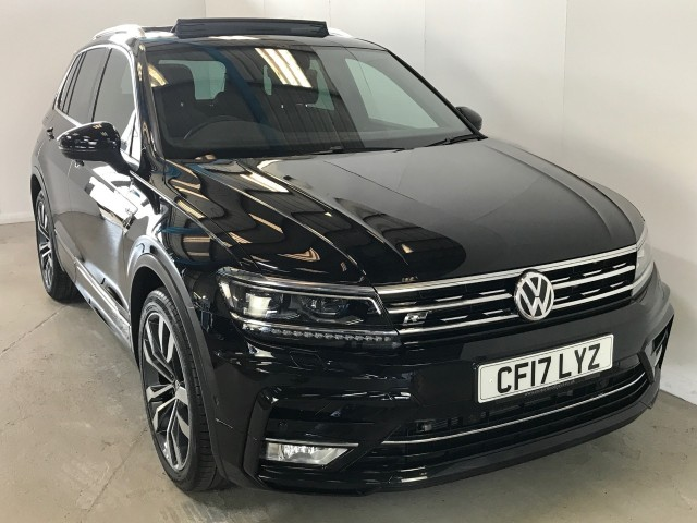 Used Volkswagen Tiguan R-line TDi Bluemotion Technology DSG Suv