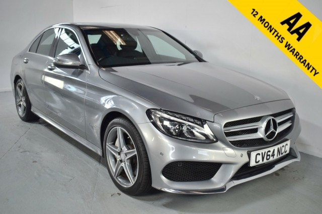 Used Mercedes Benz C-class C250 Bluetec Amg Line Saloon