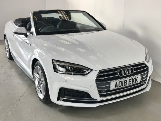 Used Audi A5 Tfsi S Line Convertible