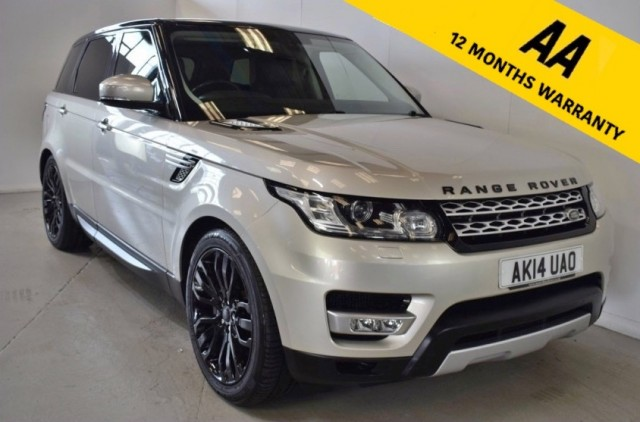 Used Land Rover Range Rover Sport Sdv6 Hse Suv