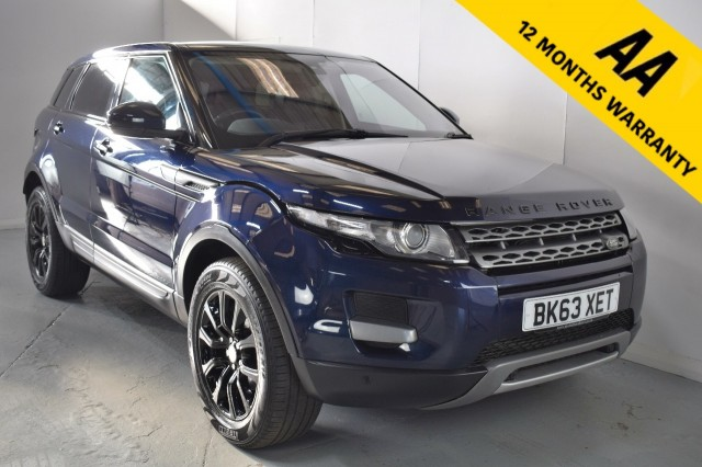 Used Land Rover Range Rover Evoque Sd4 Pure Suv