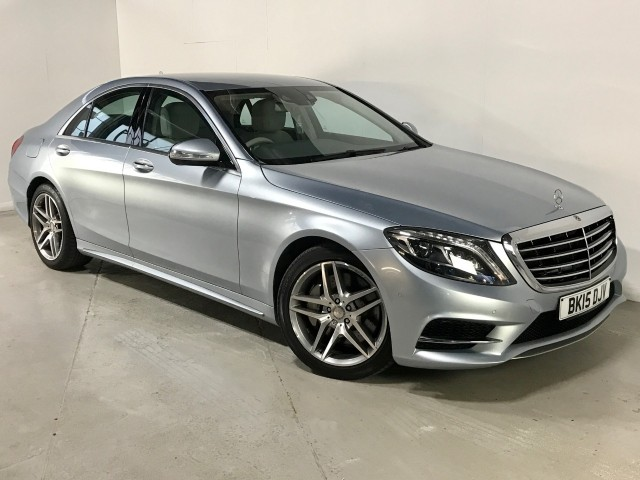 Used Mercedes Benz S-class S350 Bluetec Amg Line Saloon