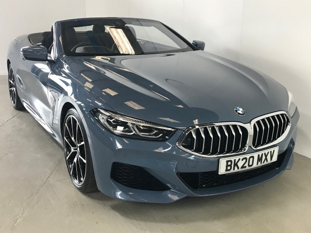 Used BMW 8 Series 840i Convertible