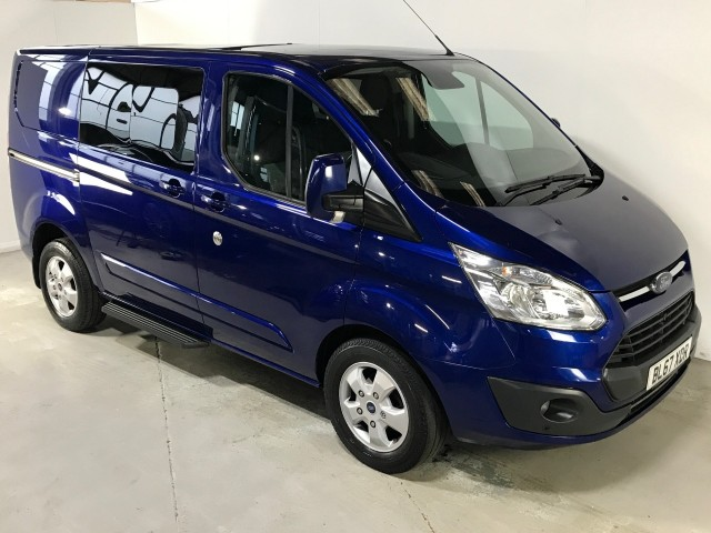 Used Ford Transit Custom 290 Limited Lr Dcb Panel Van