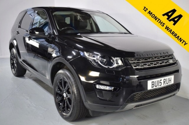 Used Land Rover Discovery Sport Sd4 SE Tech Suv