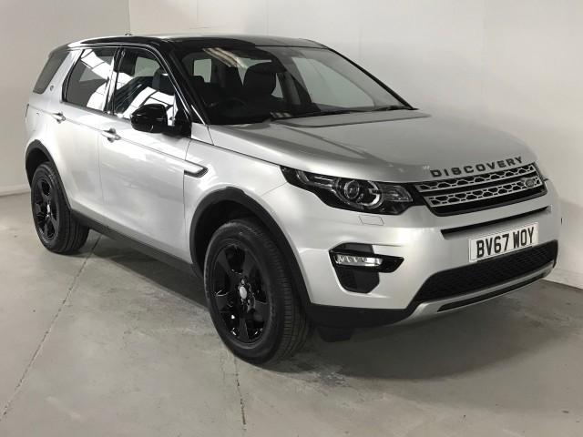 Used Land Rover Discovery Sport TD4 Hse Suv