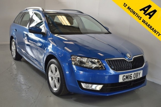Used Skoda Octavia SE L TDi DSG Estate