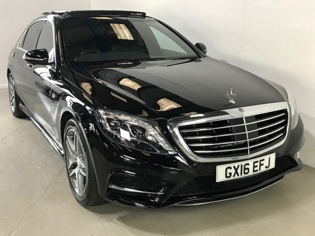 Used Mercedes Benz S-class S300 Bluetec Hybrid L Amg Line Executive Saloon
