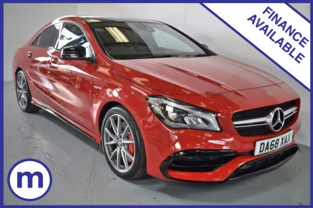 Used Mercedes Benz Cla Amg Cla 45 4matic Night Edition Plus Saloon