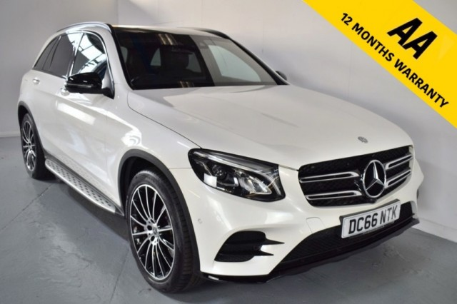 Used Mercedes Benz Glc-class Glc 220 D 4matic Amg Line Premium Estate