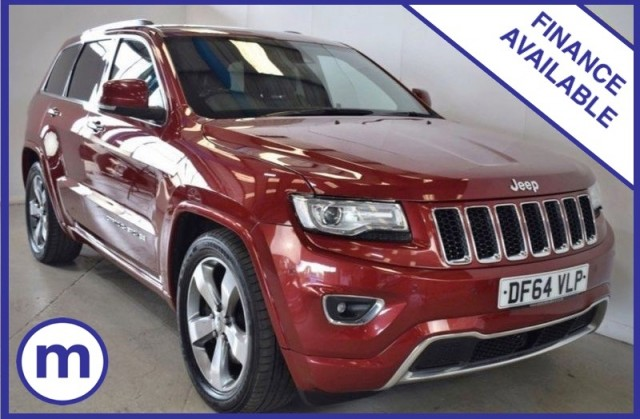 Used Jeep Grand Cherokee V6 CRD Overland Suv