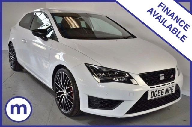 Used Seat Leon Tsi Cupra Black Hatchback