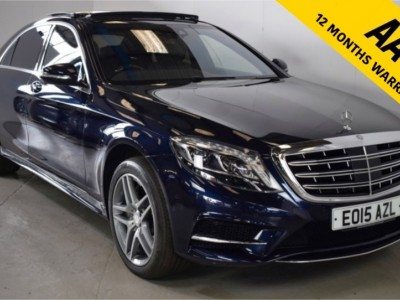 Mercedes Benz S-class S350 Bluetec L Amg Line Executive