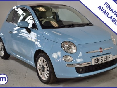Fiat 500 C Lounge Dualogic