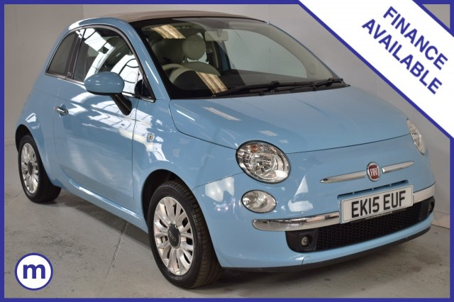 Used Fiat 500 C Lounge Dualogic Convertible