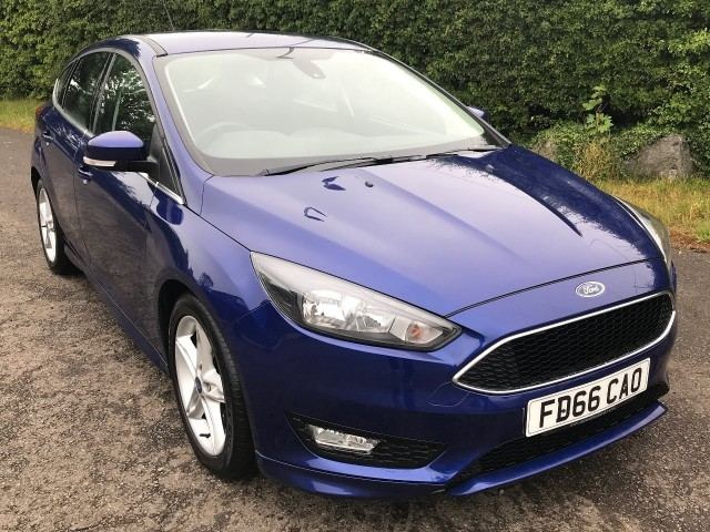 Used Ford Focus Zetec S Hatchback