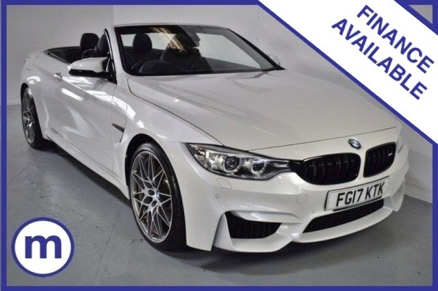 Used BMW 4 Series M4 Competition Package Convertible