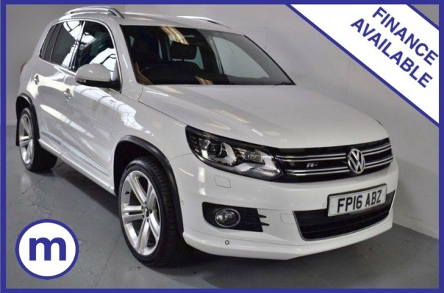 Used Volkswagen Tiguan R Line Edition TDi Bmt 4motion Suv