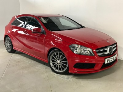 Mercedes Benz A-class A220 Cdi Blueefficiency Amg Sport