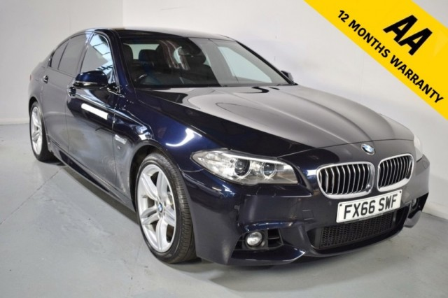Used BMW 5 Series 520d M Sport Saloon