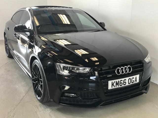 Used Audi A5 TDi Quattro Black Edition Plus Hatchback