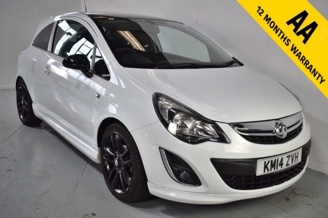 Used Vauxhall Corsa Limited Edition Hatchback