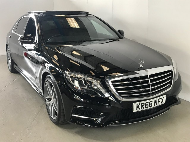 Used Mercedes Benz S-class S 350 D L Amg Line Saloon