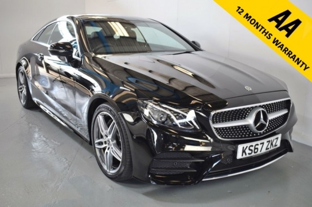 Used Mercedes Benz E-class E 220 D Amg Line Coupe