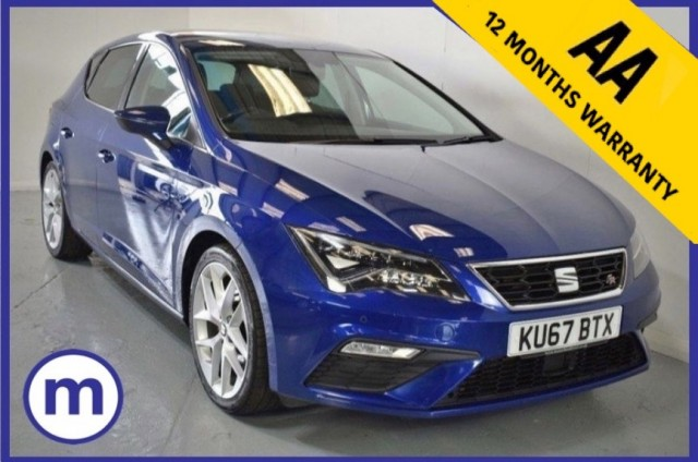 Used Seat Leon TDi Fr Technology DSG Hatchback