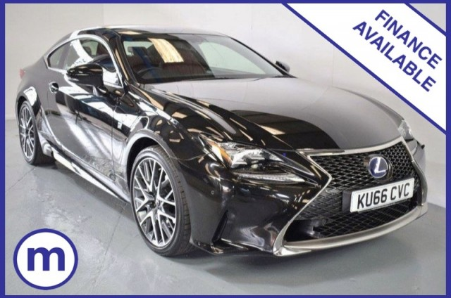 Used Lexus Rc 300h F Sport Coupe