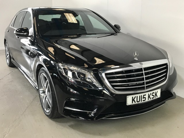 Used Mercedes Benz S-class S350 Bluetec L Amg Line Executive Saloon