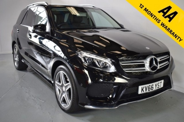 Used Mercedes Benz Gle-class Gle 350 D 4matic Amg Line Estate