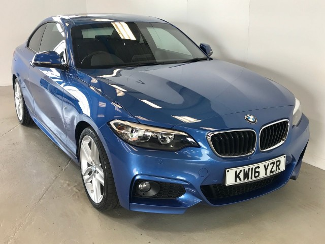Used BMW 2 Series 218d M Sport Coupe