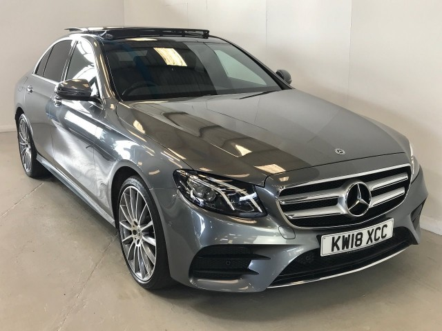 Used Mercedes Benz E-class E 220 D 4matic Amg Line Premium Saloon