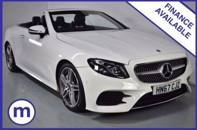 Used Mercedes Benz E-class E 300 Amg Line Premium Plus Convertible