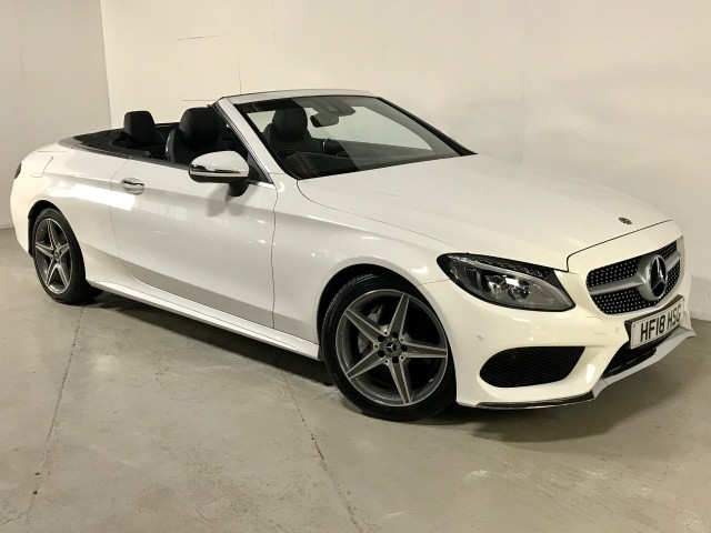 Used Mercedes Benz C-class C 220 D Amg Line Convertible