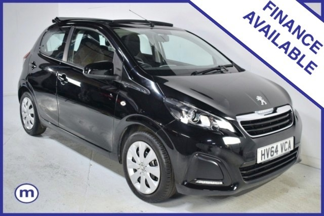 Used Peugeot 108 Active Top Hatchback