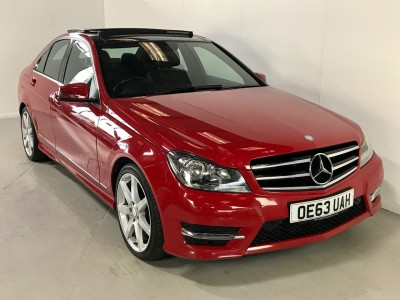 Mercedes Benz C-class C220 Cdi Amg Sport Edition Premium Plus