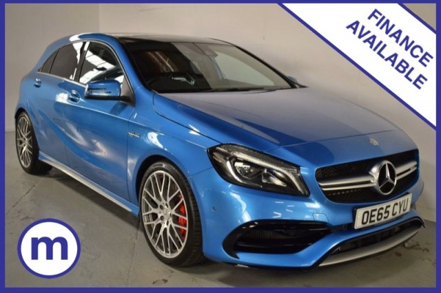 Used Mercedes Benz A-class Amg A 45 4matic Premium Hatchback