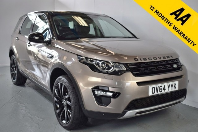 Used Land Rover Discovery Sport Sd4 Hse Suv