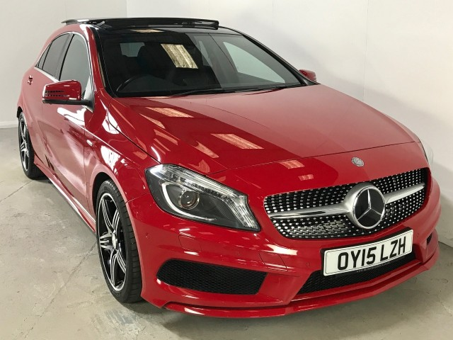 Used Mercedes Benz A-class A250 4matic Engineered By Amg Hatchback