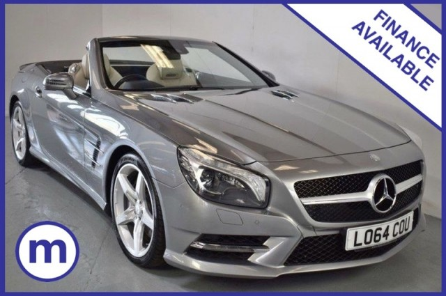 Used Mercedes Benz Sl Sl500 Amg Sport Convertible