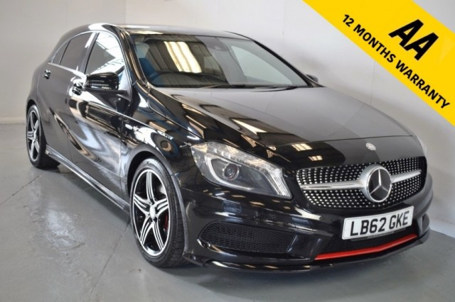 Used Mercedes Benz A-class A250 BlueeffiCiency Engineered By Amg Hatchback