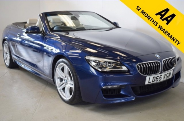 Used BMW 6 Series 640i M Sport Convertible