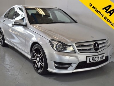 Mercedes Benz C-class C250 Cdi Blueefficiency Amg Sport Plus