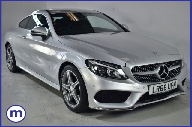 Used Mercedes Benz C-class C 220 D Amg Line Coupe