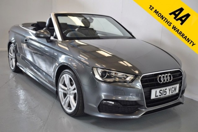 Used Audi A3 TDi S Line Convertible