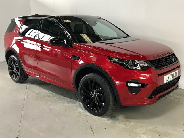 Used Land Rover Discovery Sport TD4 Hse Dynamic Lux Suv