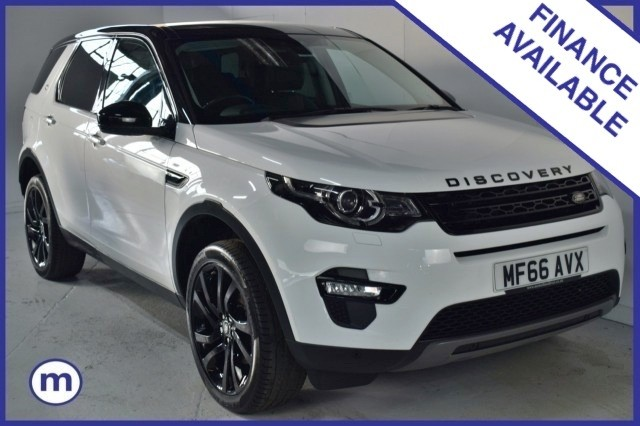 Used Land Rover Discovery Sport TD4 Hse Black Suv