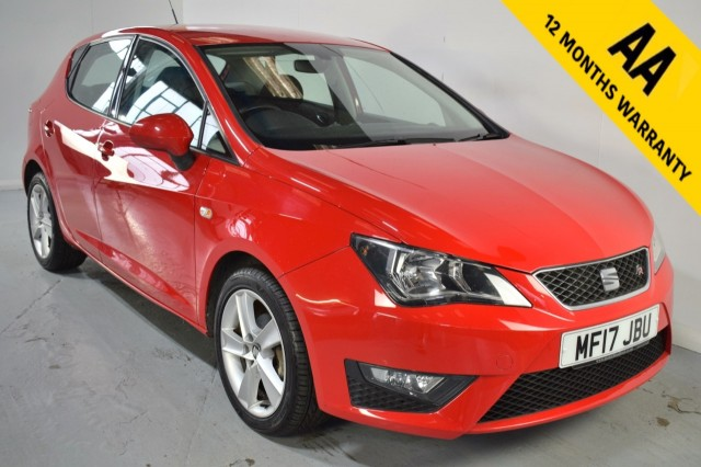 Used Seat Ibiza Tsi Fr Technology Hatchback